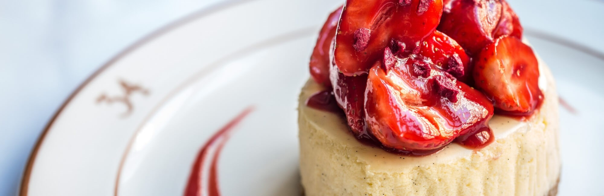 34 Mayfair's Strawberry Cheesecake is available at restaurant in Mayfair