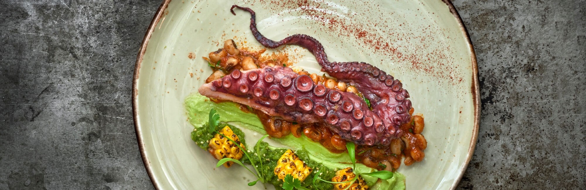 Grilled Octopus at 34 Mayfair, Restaurant in Mayfair