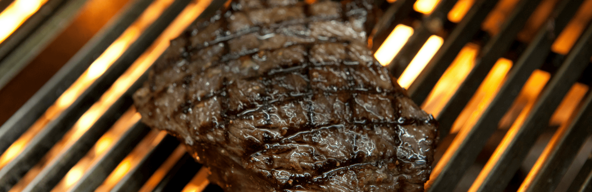 Steak cooked on the Argentinian Grill at 34 Mayfair, a Steak Restaurant in London Mayfair
