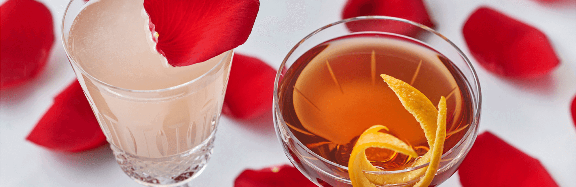 Valentine's Day cocktails at 34 Mayfair in Central London