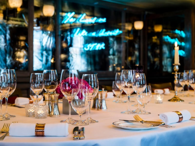 Private Dining at 34 Mayfair in Central London, Bond Street