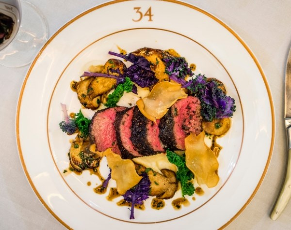 Dish available at 34 Mayfair a grill restaurant located in Mayfair, for lunch or dinner