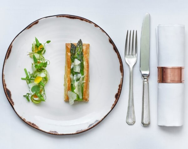 34 Mayfair is a restaurant serving a changing A La Carte, brunch and vegetarian menus