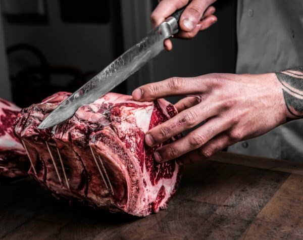 34 Mayfair is a steak restaurant with a great selection of beef (including pure heritage breeds from the Yorkshire Dales and A5 Japanese Wagyu)